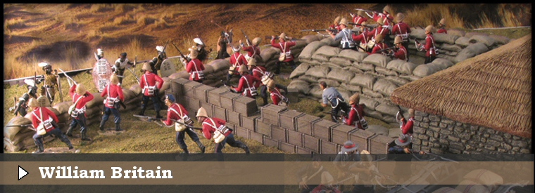 William Britains figures & dioramas