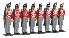 WB40194- 1815 British Infantry- 44th Foot