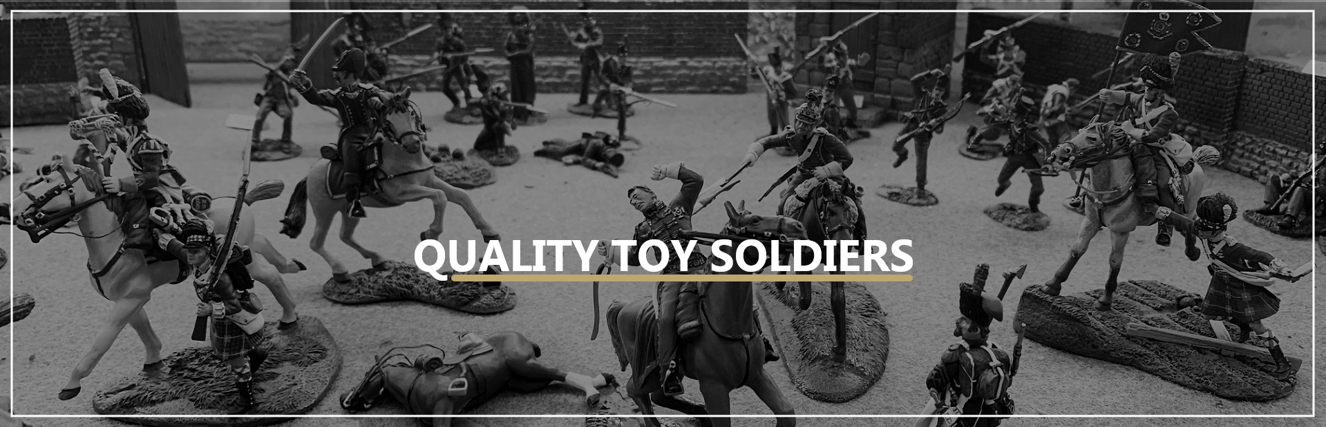 Shop for metal toy soldiers including William Britain and SS Miniatures